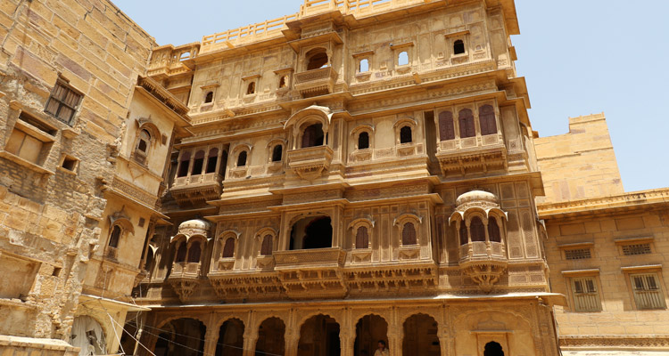 One Day Jaisalmer Local Sightseeing Trip by Car  Patwon ki Haveli
