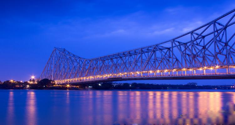 One Day Kolkata Local Sightseeing Trip by Car Howrah Bridge
