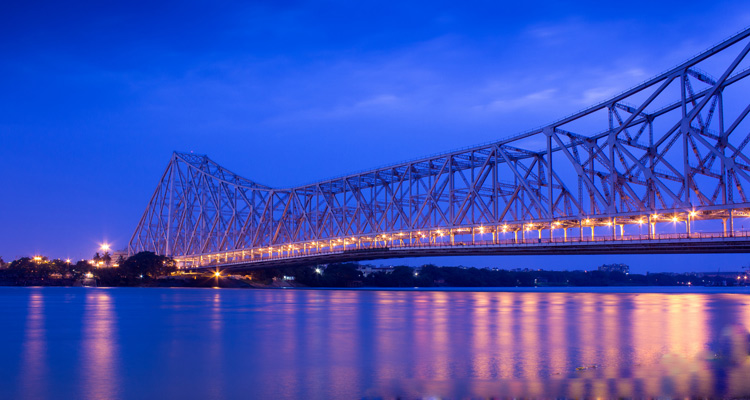 One Day Kolkata Local Sightseeing Trip by Car Howrah Bridge