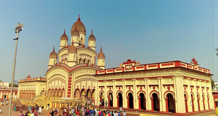 One Day Kolkata Local Sightseeing Trip by Car Dakshineshwar Kali Temple