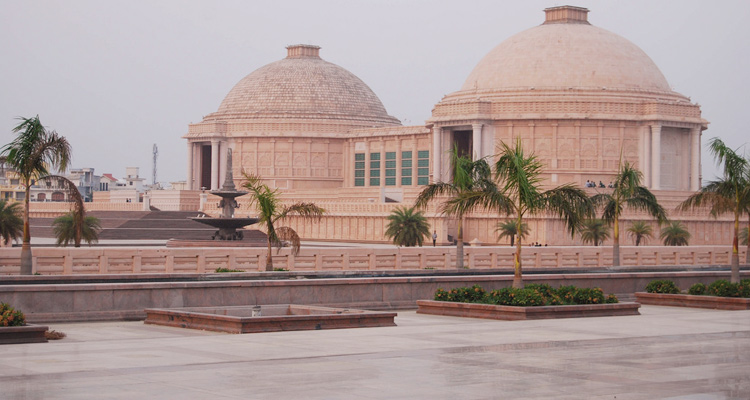 One Day Lucknow Local Sightseeing Trip by Car Ambedkar Memorial Park