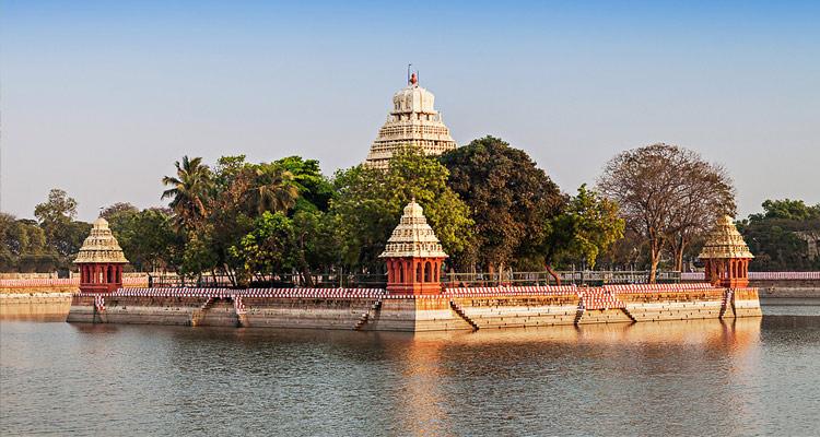 One Day Madurai Local Sightseeing Trip by Car Teppakulam Mariamman Temple