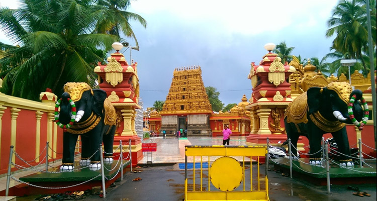 One Day Mangalore Local Sightseeing Trip by Car Kudroli Gokarnanatheshwara Temple