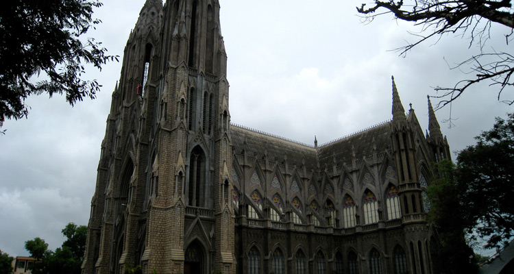 One Day Mysore Local Sightseeing Trip by Car St. Philomena Church