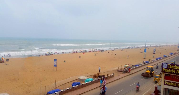 One Day Puri Local Sightseeing Trip by Car Swargadwar Beach