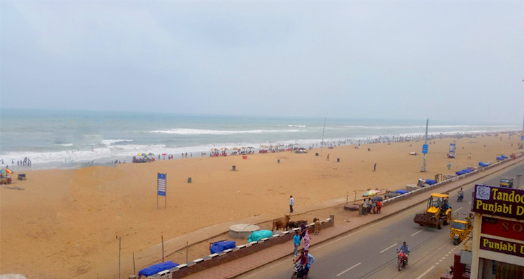 One Day Puri Local Sightseeing Trip by Car Swargadwar Beach