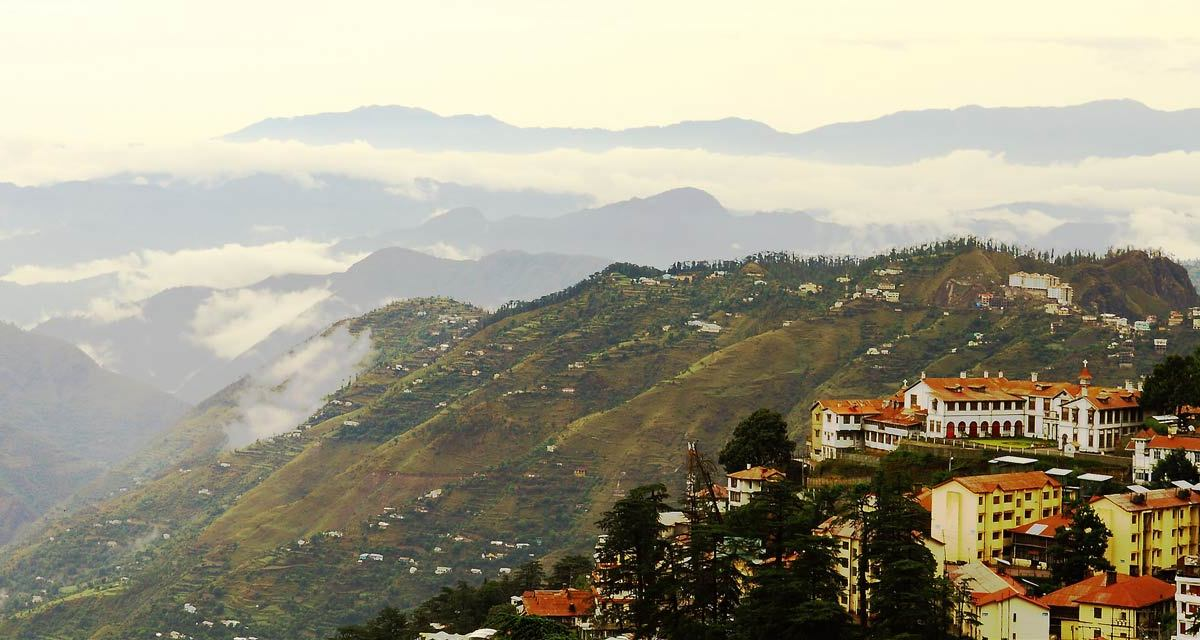 One Day Shimla & Kufri Local Sightseeing Trip by Car Header