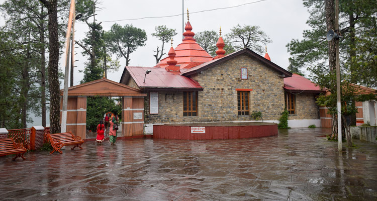 One Day Shimla & Kufri Local Sightseeing Trip by Car Sankat Mochan Temple
