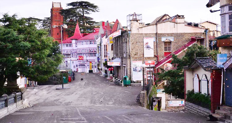 One Day Shimla Local Sightseeing Trip by Car Scandal Point