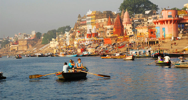 One Day Varanasi Local Sightseeing Trip by Car Boat Ride on the Holy River of Ganges