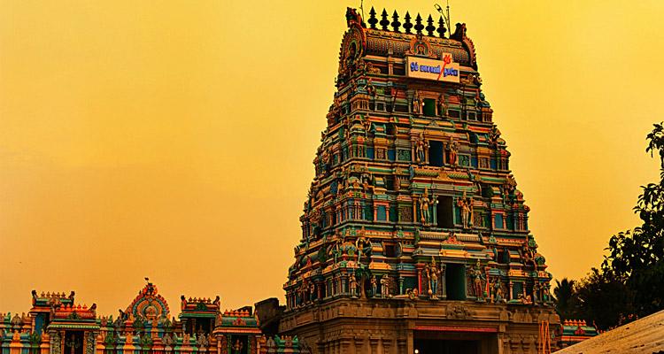 1 Day Coimbatore to Pollachi and Valparai Tour by Cab Masaniamman Temple