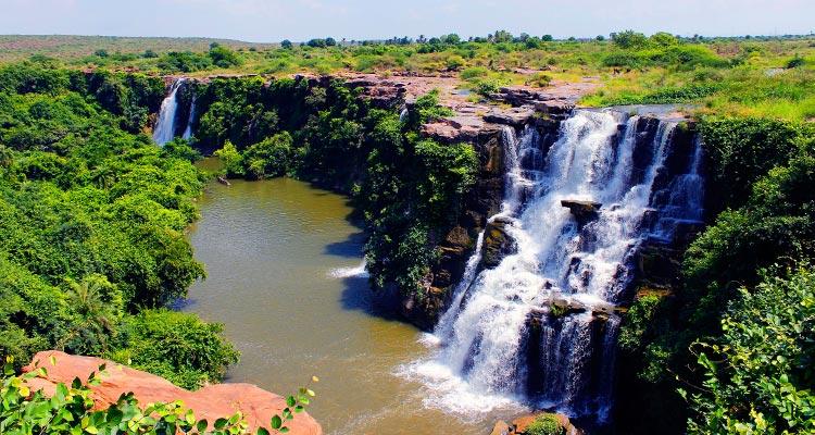 1 Day Hyderabad to Nagarjunasagar Tour by Cab Ethipothala Waterfalls