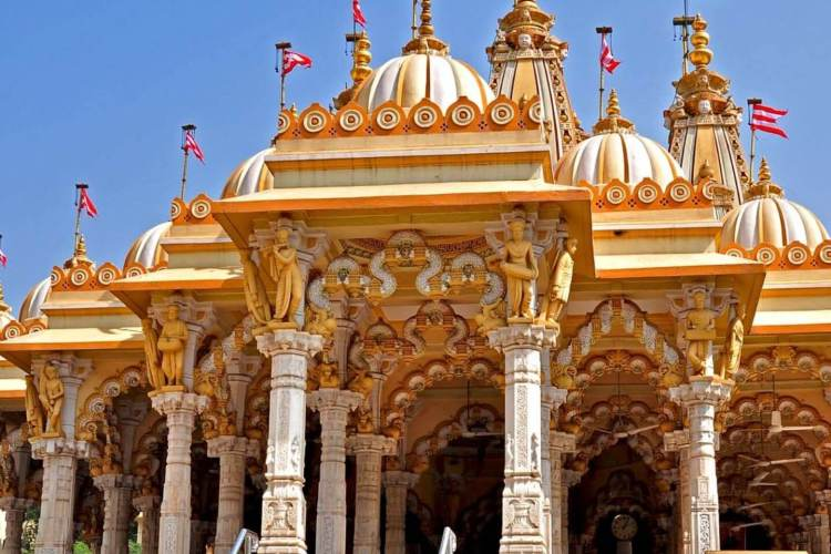 Swaminarayan Temple w/ Amdavad City Sightseeing Tour Package by Taxi