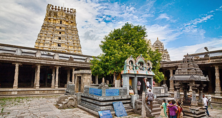 1 Day Chennai to Kanchipuram Tour by Cab Ekambareswarar Temple