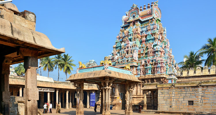 1 Day Chennai to Kanchipuram Tour by Cab Vaikunta Perumal Temple