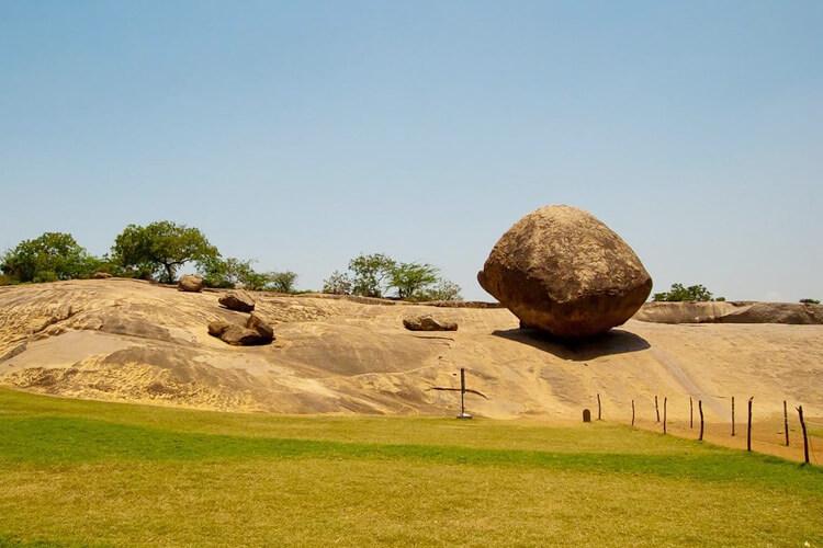 Butter Ball with 1 Day Chennai to Mahabalipuram & Kanchipuram Trip by Cab