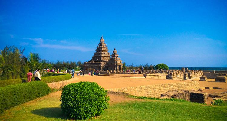 1 Day Chennai to Mahabalipuram Tour by Cab Mahabalipuram Seashore Temple