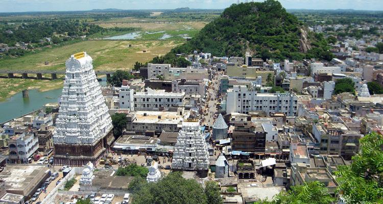 1 Day Chennai to Sri Kalahasti Tour by Cab Sri Kalahasteeswara Temple