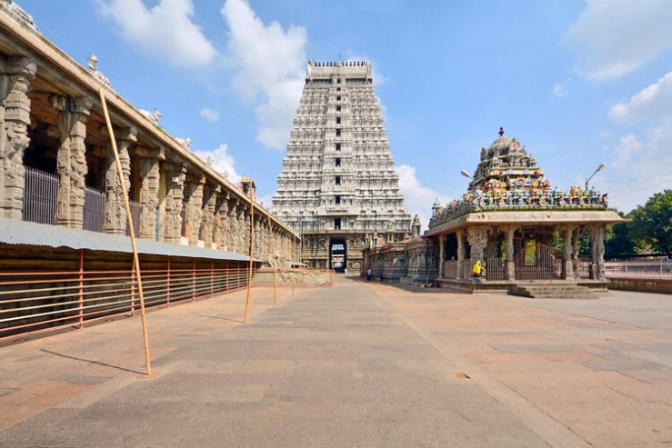 Arunachaleswarar Temple with 1 Day Chennai to Vellore & Tiruvannamalai Trip by Car