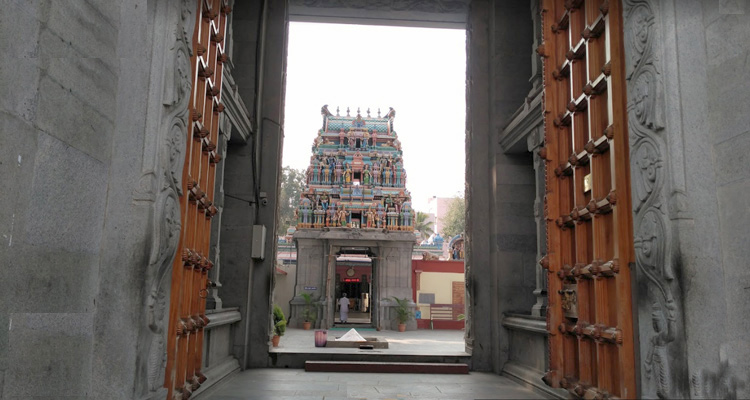 1 Day Coimbatore Temple Tour by Cab Koniamman Temple