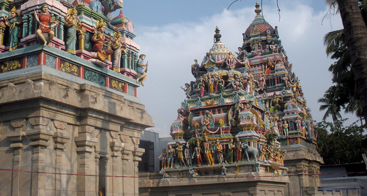 1 Day Coimbatore Temple Tour by Cab Kottai Easwaran Temple