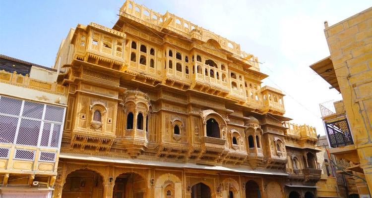 1 Day Jaisalmer Local Sightseeing Tour by Cab Nathmal Ji Ki Haveli