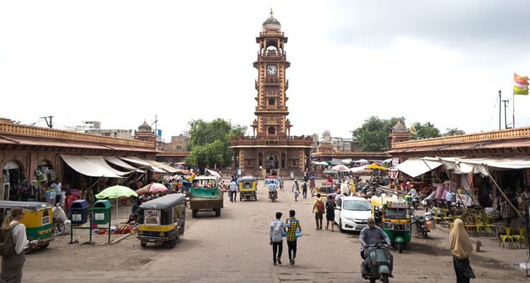 1 Day Jodhpur Local Sightseeing Tour by Car Shopping at Old City Clock Tower