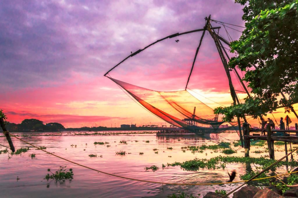 One Day Kochi Local Sightseeing Tour with fort Kochi Beach