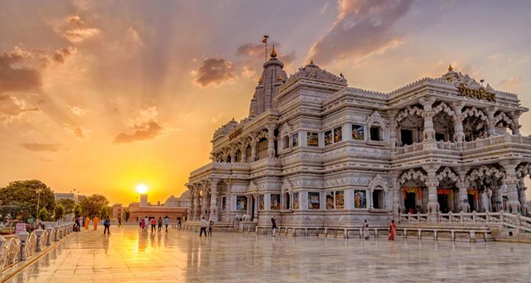1 Day Mathura and Vrindavan Local Sightseeing Tour Prem Mandir (Shyama Shyam Dham)