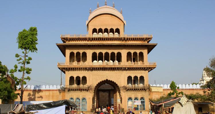 1 Day Mathura and Vrindavan Local Sightseeing Tour Banke Bihari Temple