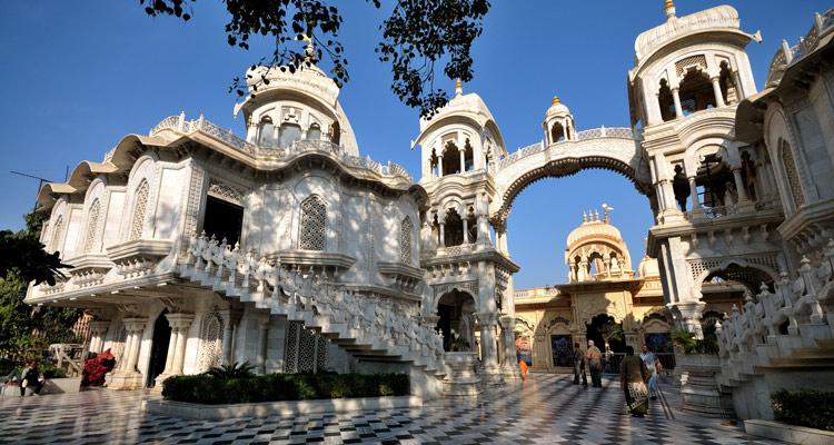 1 Day Mathura and Vrindavan Local Sightseeing Tour Sri Krishna Balaram Temple (ISKCON), Vrindavan