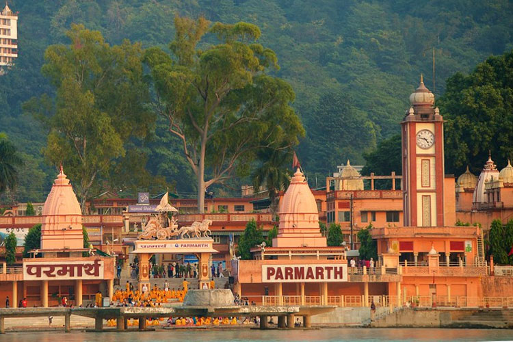 Parmarth Niken Ashram with One Day Delhi to Haridwar and Rishikesh Sightseeing Trip by Car