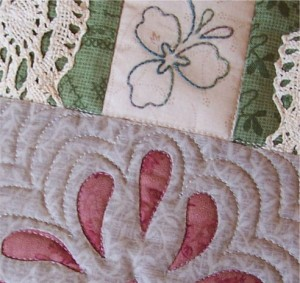 Thankful Block reverse applique and embroidery
