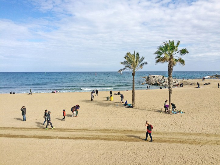 La Barceloneta Beach Itinerary
