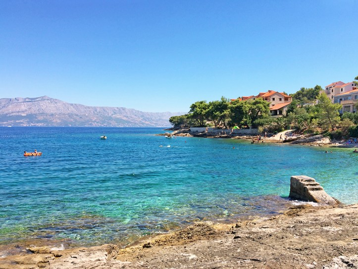 Beautiful Beach Island Of Brac Croatia