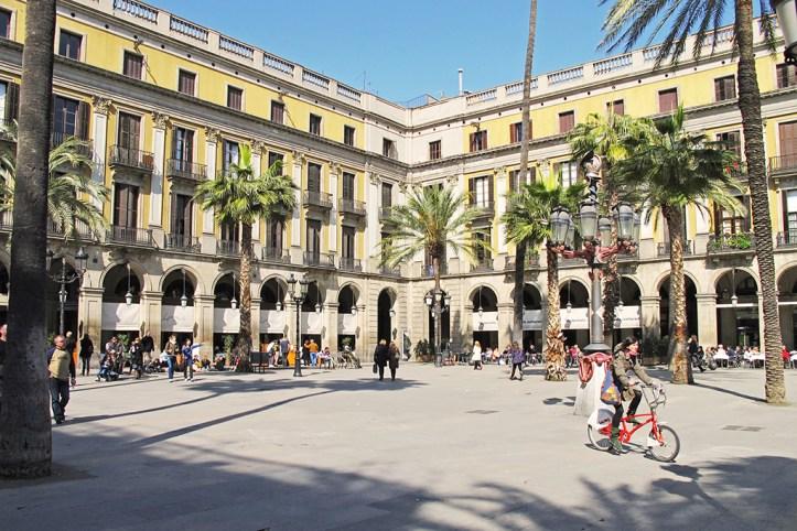 Placa Reial Barcelona