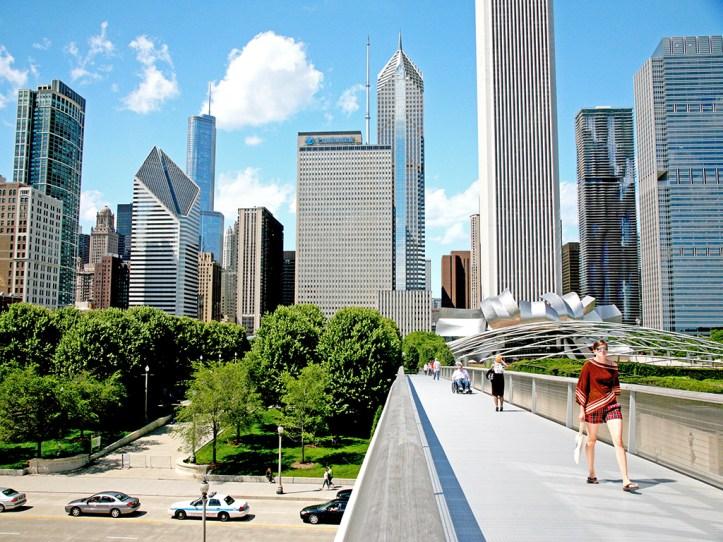 Millenium Park in Chicago
