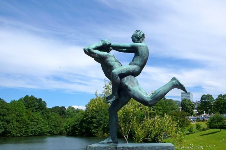 Sculptures Vigeland Park