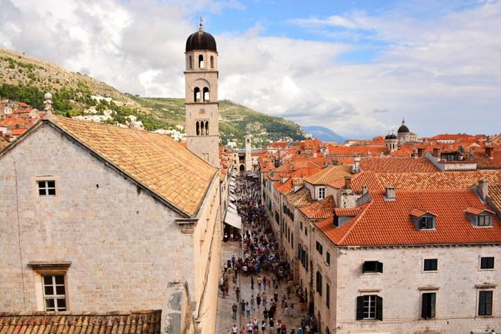 Stradun Street Dubrovnik