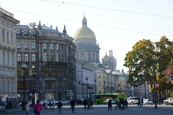 Streets of St Petersburg