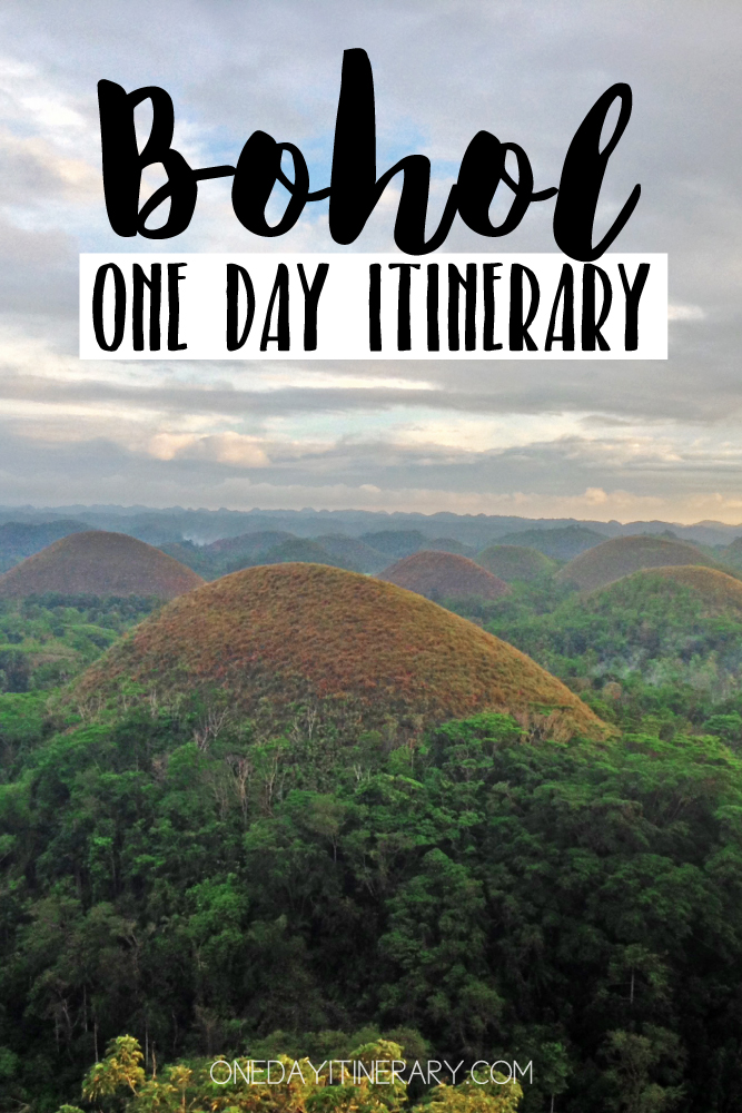 Bohol Philippines One day itinerary