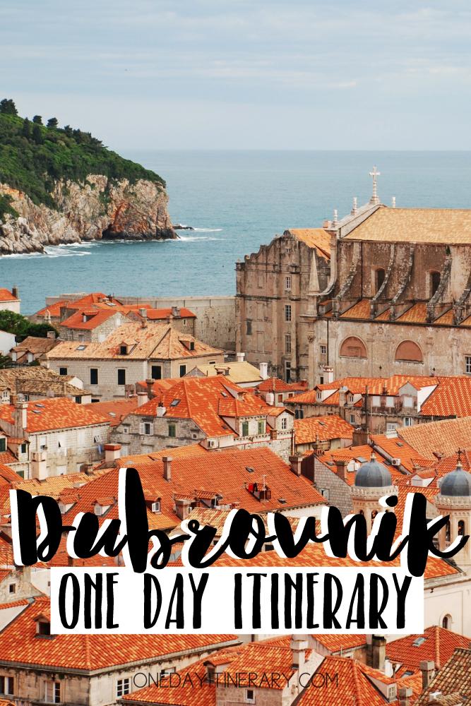 Dubrovnik Croatia One day itinerary