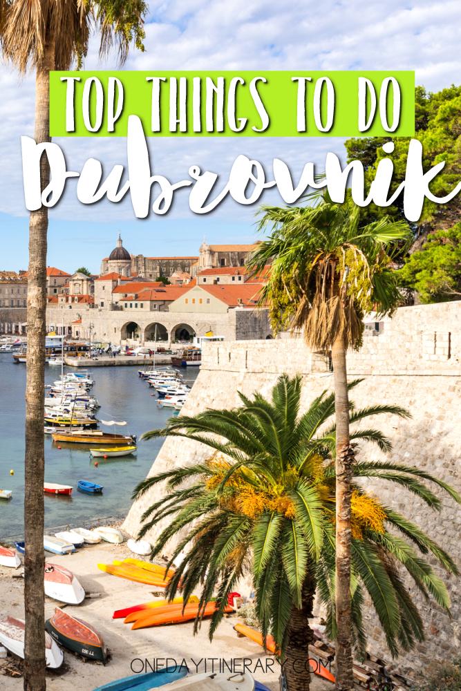 Dubrovnik Croatia Top things to do