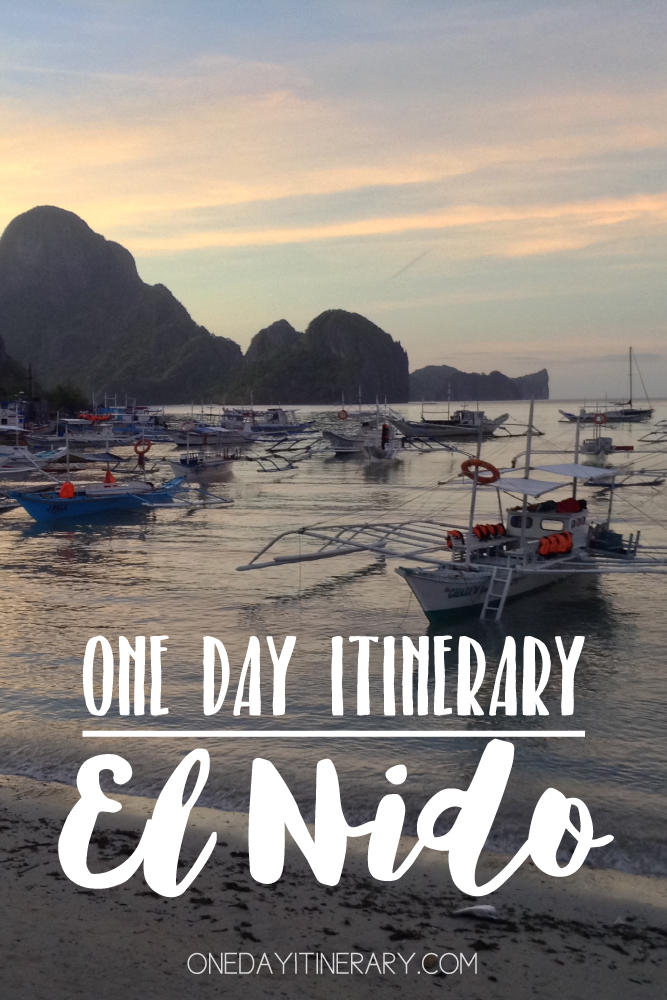 El Nido Philippines One day itinerary