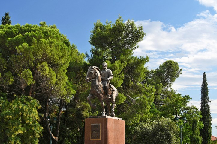 King Nikola Statue, Podgorica