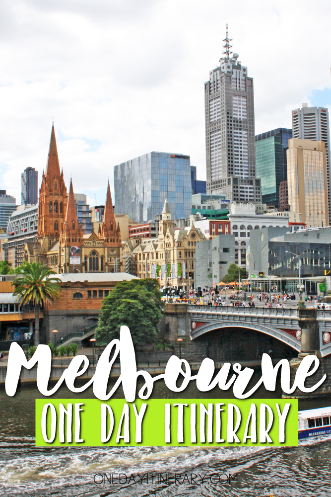 Melbourne Australia One day itinerary