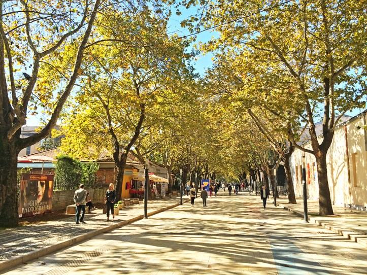 Murat Toptani Street Tirana