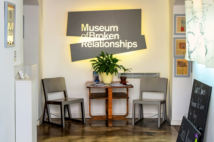 Museum of the Broken Relationships, Zagreb