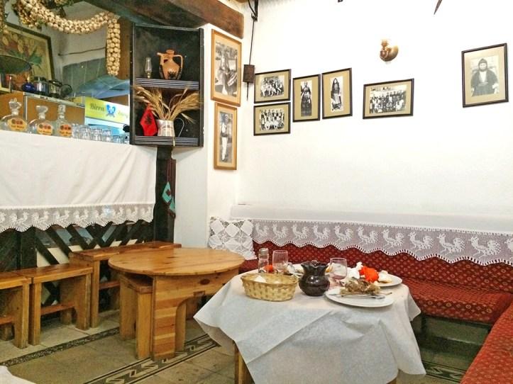 Oda restaurant interior Tirana