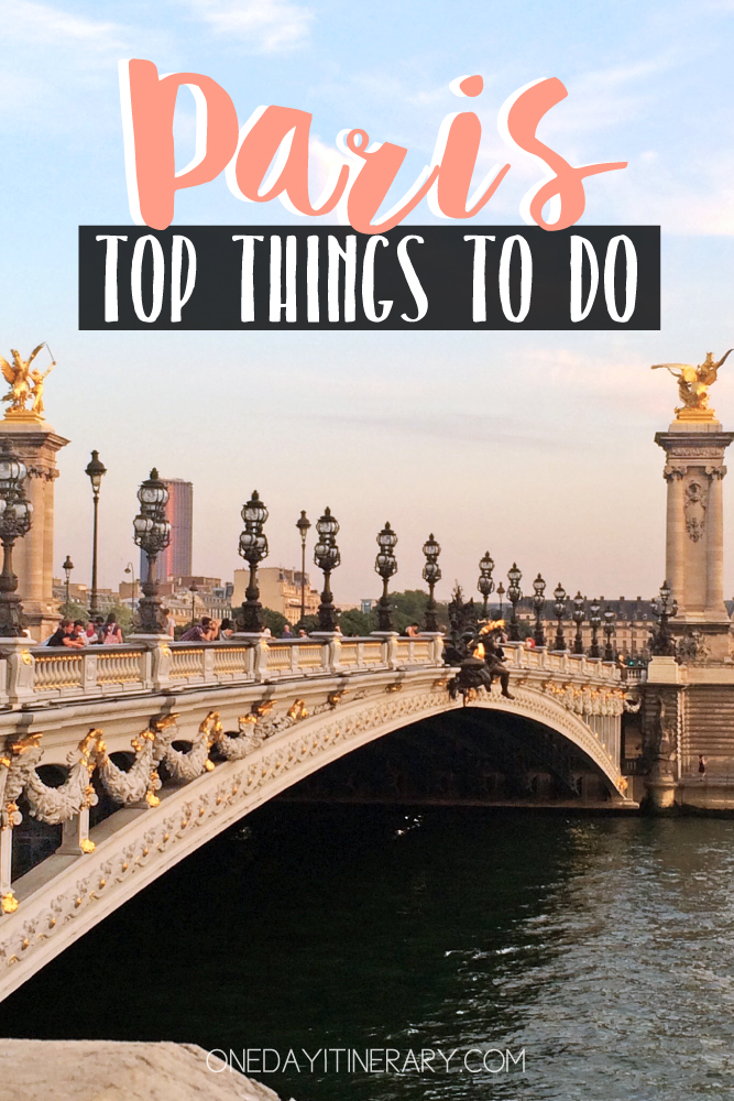 Paris France Top things to do